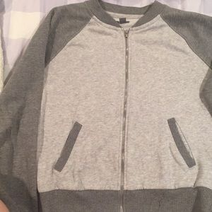 Aerie Cotton Bomber Jacket